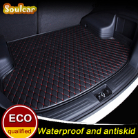 Custom fit Car turnk mats for AUDI A6 S6 RS6 C5 C6 C7 A6 allroad 2005 2017 BOOT LINER REAR TRUNK CARGO TRAY CARPET MATS