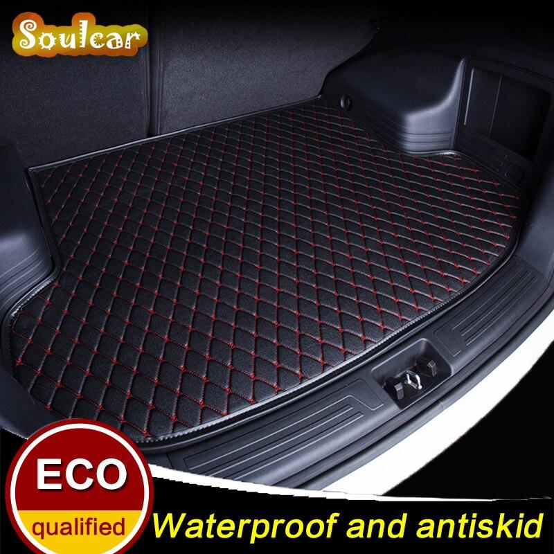 Tapis de voiture sur mesure pour AUDI A6 S6 RS6 C5 C6 C7 A6 allroad 2005-2017 tapis de coffre arrière