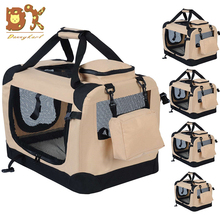 DannyKarl New 2019 AliExpress Hot Blast Oxford Cloth Waterproof Folding Pockets Dual-use Cat And Dog Cage Pet Travel Car Luggage
