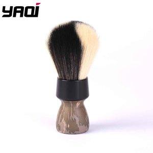 Image 1 - Yaqi Target Shot White And Black Synthetic Fibre Shaving Brush