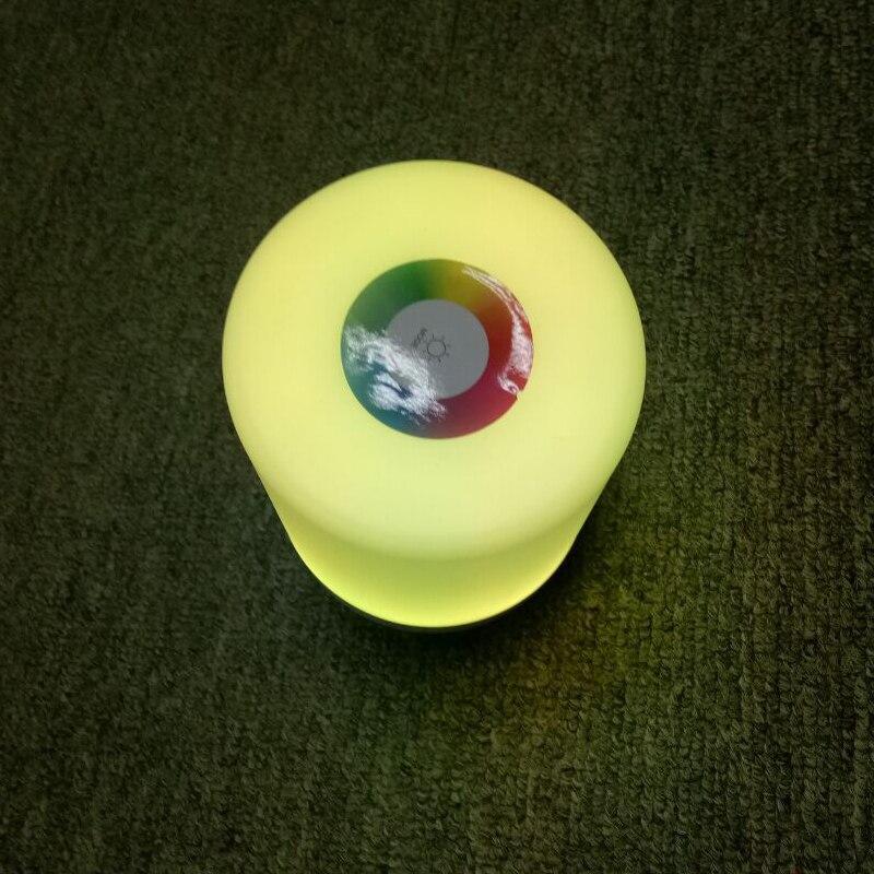 Image 5 - Kolorowe ściemniane światło nocne sterowanie dotykowe zasilanie USB zasilane oświetlenie wielofunkcyjna lampa do sypialni LED światła zewnętrzneOświetlenie nocne   -