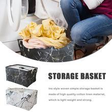 цена на Dustproof Foldable Laundry Basket Canvas Storage Drawstring Basket Barrel Creative Kids Toys Organizer Barrel Home Supplies
