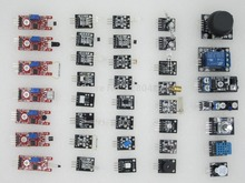 Free shipping  37 IN 1  SENSOR KITS FOR ARDUINO HIGH-QUALITY FREE SHIPPING (Works with Official Arduino Boards)100%new