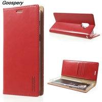 Mercury Goospery Flip Case For Samsung Galaxy A8 2018 Blue Moon PU Leather Case For Samsung