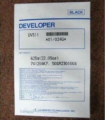 1piece DV511 Developer For Konica Minolta BH420 421 500 501 7145 Printer Copier Parts 1pcs compatible developer for minolta 7020 7022 7030 7130 7025 copier parts