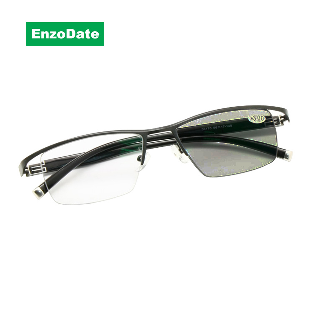 45c747b2af Transition Photochromic Progressive Multi Focus Reading Glasses Varifocal No  Line Gradual Lens +Rx Farsighted from