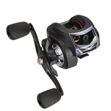 купить AC200 Carp Fishing Baitcasting Reel 13+1BB Left and right hand Bait Casting Reel 6.3:1 High Speed Fishing wheel Fishing tackle дешево