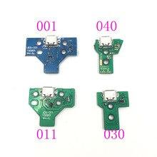 20PCS עבור PS4 בקר USB טעינת נמל שקע JDS 055 040 030 011 001 המעגלים 12 פין 14Pin