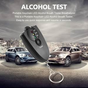 Breathalyzer-Alcohol-Analyzer Alcohol-Breath-Tester Keychain-Design Hot Diagnostic-Tool
