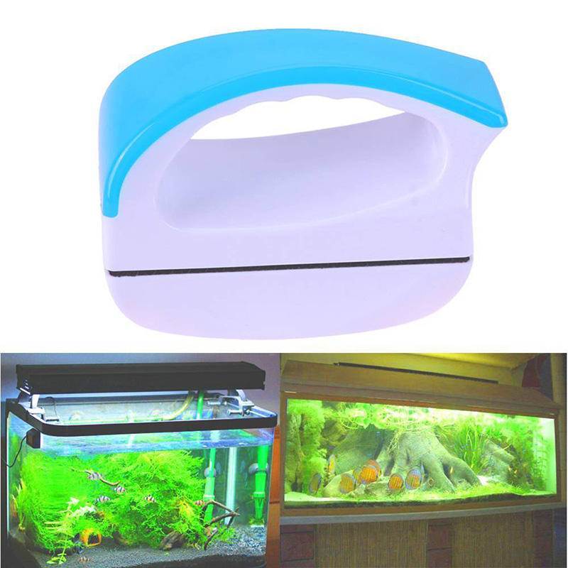 Double Side Aquarium Fish Tank Drijvende Glas Borstel Magnetische Window Cleaning Huishoudelijke Wiper Nuttig Oppervlak Brushs Tool Goederen Van Elke Beschrijving Zijn Beschikbaar