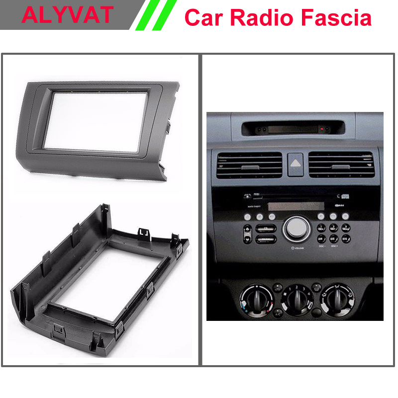 car auto dvd radio facia for suzuki swift 2004 2010 dzire. Black Bedroom Furniture Sets. Home Design Ideas