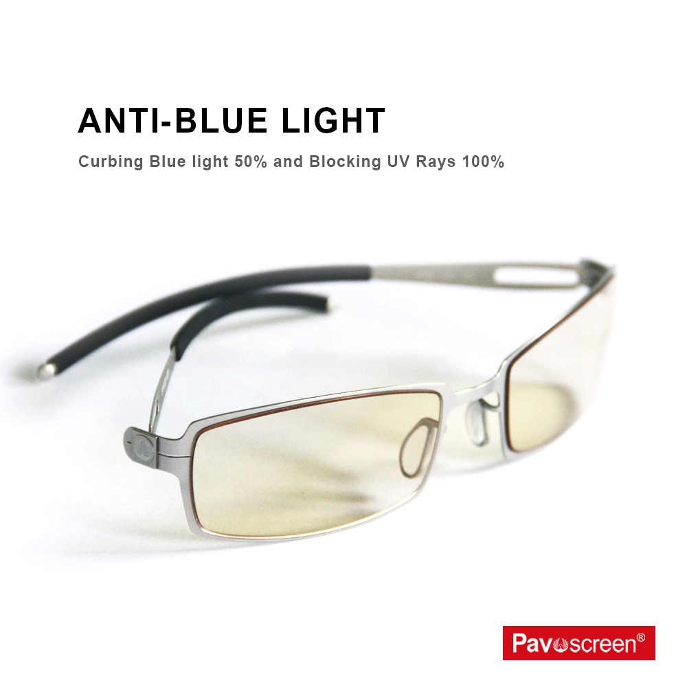 43e152ec0ce7 Pavoscreen computer eyewear glassess Anti Glare and Anti Blue rays Gaming  glasses anti glare computer glasses Frames Eyewear