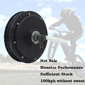 Image 4 - QS Motor Bicycle Spoke motor 3000W 205 (50H) V3 Type Hub Motor 72V 80KPH