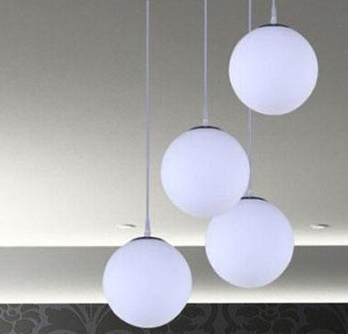 D150 400mm American Modern Gl Pendant Light Fixtures With Ball Lamp Shades Lighting Indoor Decoration