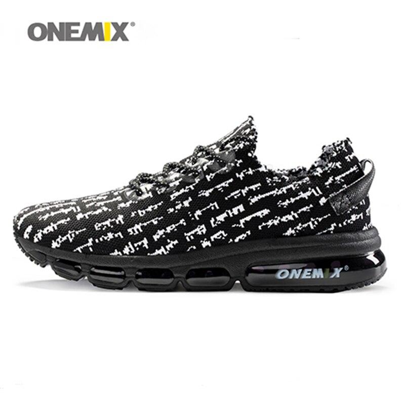New onemix 2018 air men running shoes for women sneakers lightweight knit mesh vamp sneakers damping