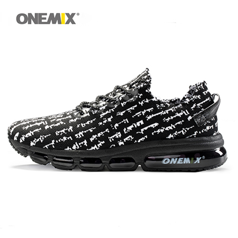 New onemix 2017 air men running shoes for women sneakers lightweight knit mesh vamp sneakers damping cushion for outdoor jogging onemix autumn women running shoes breathable mesh vamp lightweight sneakers running shoes air cusion shoes free shipping black