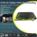 Tamaño Mini 1080 P DVB-S2 Receptor de Satélite Digital Soporte Dual USB Wifi IKS Cccam Newcam Poder Vu Youtube Biss Set Top caja