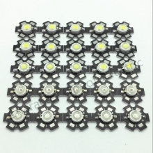 Hot 10pcs 1W 3W High Power warm white/cool white /natural white/red/green/Blue/Royal blue LED with 20mm star pcb 50pcs 1w 3w high power warm white cool white natural white red green blue royal blue 660 uv ir850 940 led with 20mm star pcb