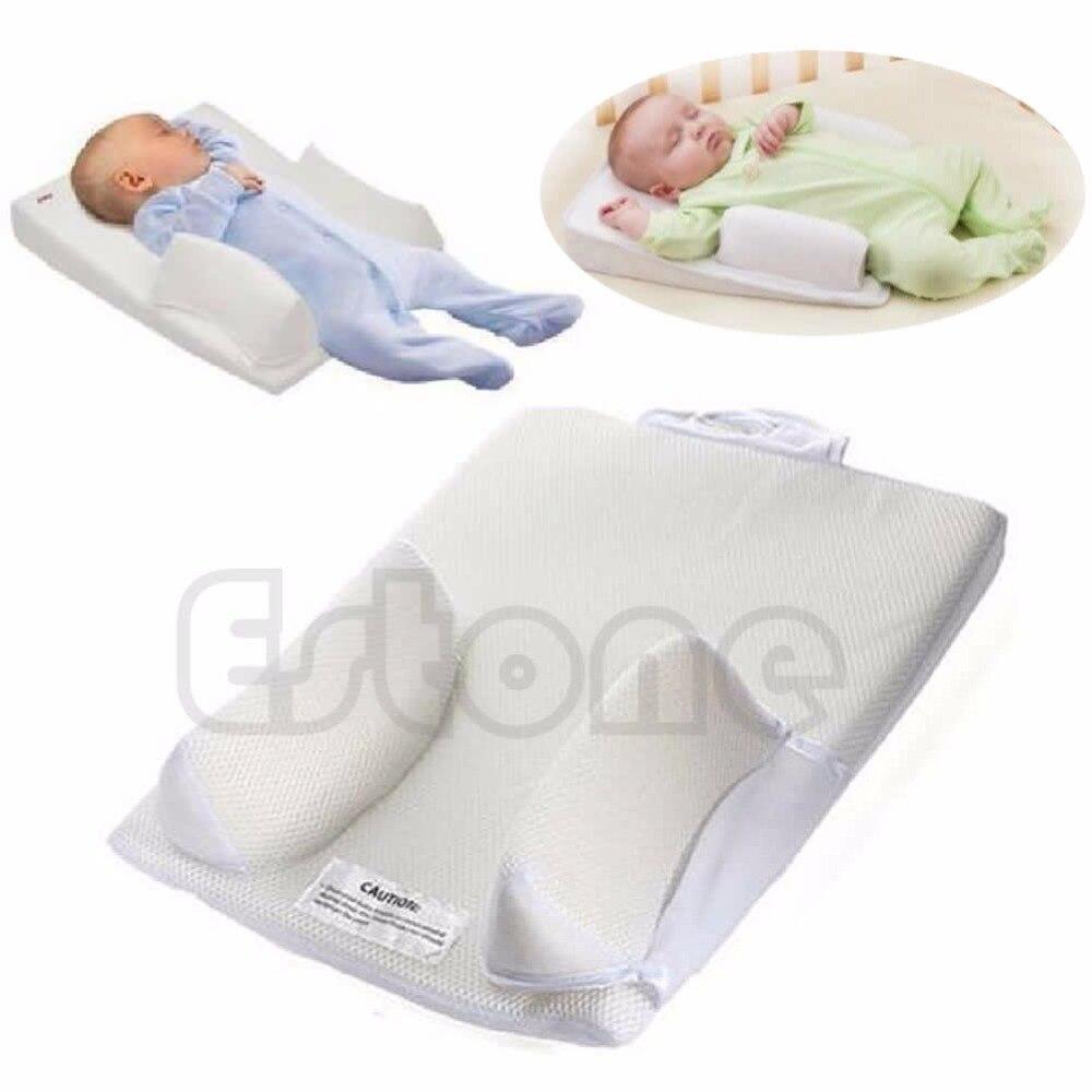 Neugeborenen kind Schlaf Stellungs Prevent Kopfform Stabilisator Kissen