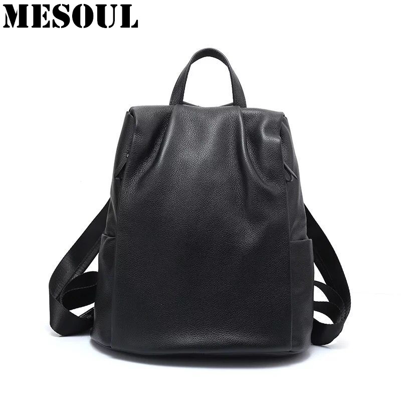 New Arrivals Women Backpack Bag Soft Genuine Leather Shoulder Travel Bags Fashion Schoolbag For Girls Designer Brands Backpacks in detail interni