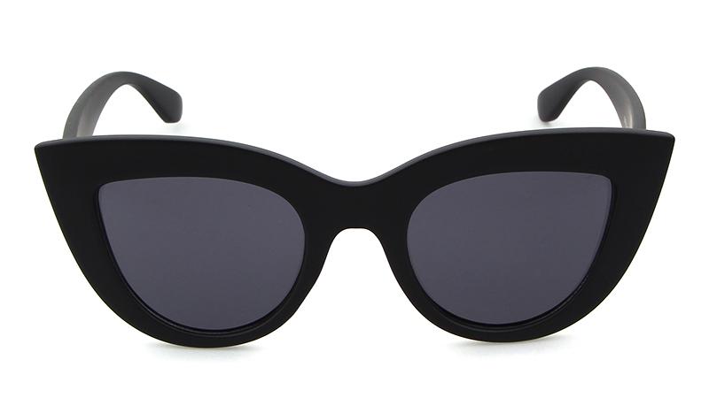 HTB1SBS7RpXXXXXlXXXXq6xXFXXXQ - Women's cat eye sunglasses ladies Plastic Shades quay eyewear brand designer black pink sunglasses PTC 221