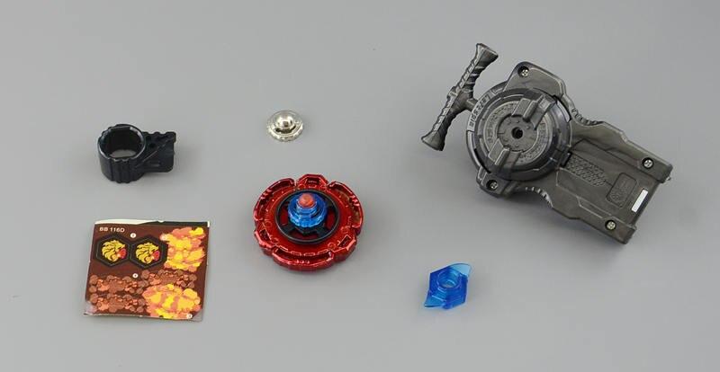 Купить с кэшбэком Beyblades Legend Metal Burst Toy Fang Leone with LR Pull Starter Pack  WBBA Version
