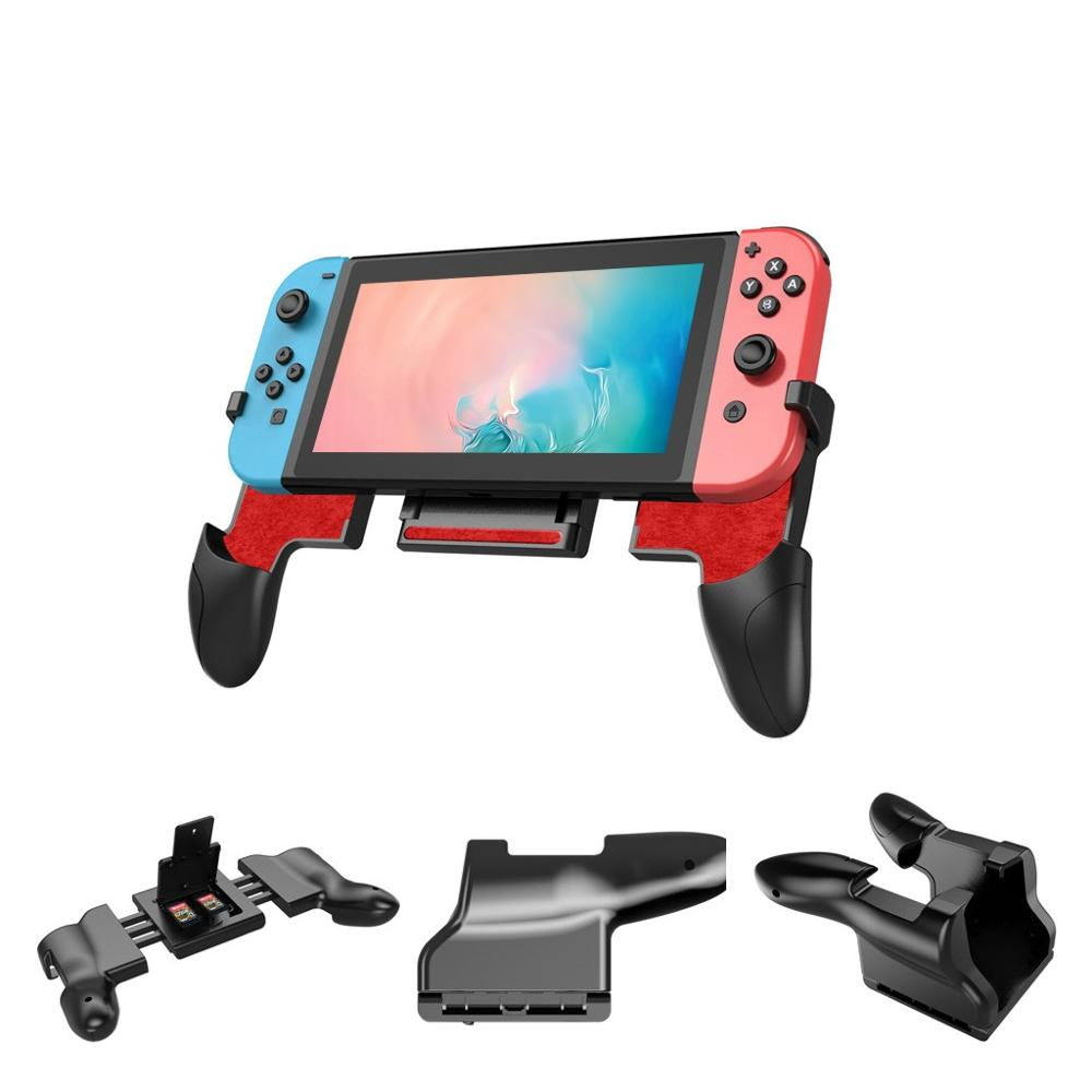Anti skidding Comfortable Joypad Bracket Holder Grip Case For Nintend switch Gamer Games Gaming Machine Cases bags-in Replacement Parts & Accessories from Consumer Electronics