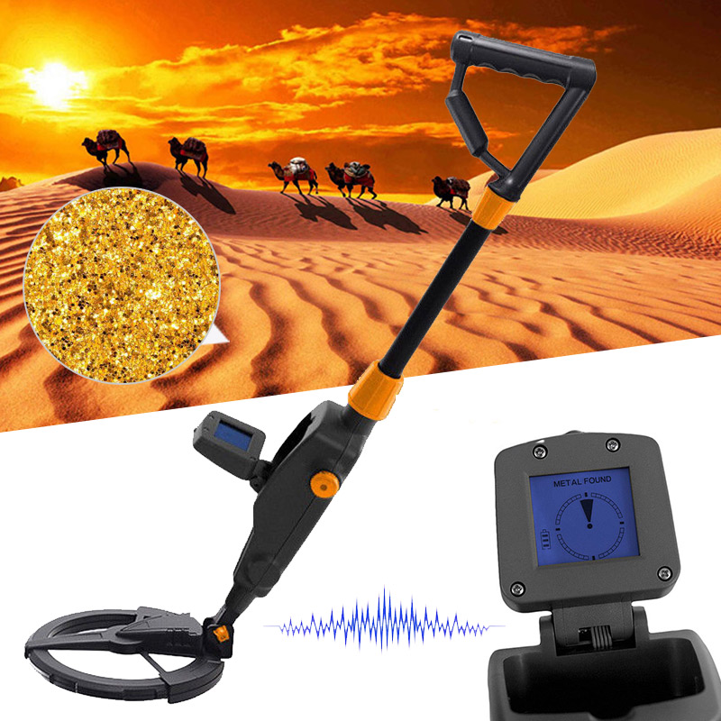 Metal Detector Beach Search Machine Underground Digger with LCD Diaplay ALI88
