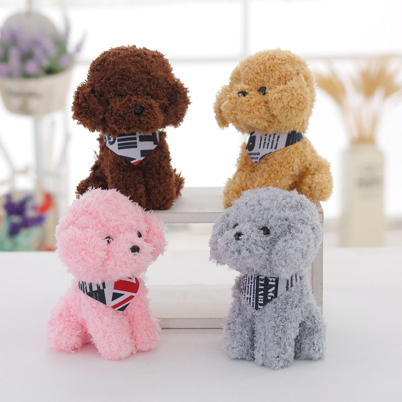 1PC High Quality Lovely Scarf Ted Dog Bunny Elephant 20cm Mini Plush Toy Cute Rabbit Gifts For Children Girls Birthday Gift