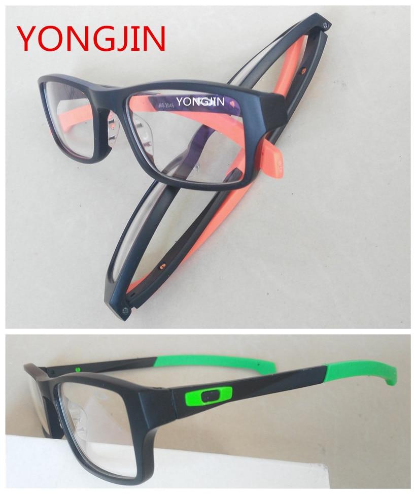 Sports frames for eyeglasses - Sports Eyewear Frame Black Eyeglasses Glasses Frame Male Windshield Glasses Quality Fashion Prescription Sports Myopia Goggles S
