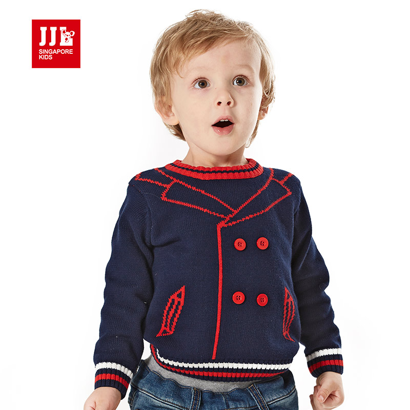 baby sweater winter boys pullover sweater o neck knitted baby boys outwear sweater shirt 100 cotton