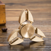 Tri Spinner Funny Fidget Toy Plastic EDC Hand Spinner For Autism and ADHD Relief Focus Anxiety