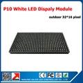 3 шт. P10 открытый белый цвет из светодиодов дисплей модули 1 шт. кроссовки текстовый дисплей управления + 1 шт. питания для из светодиодов дисплей знак