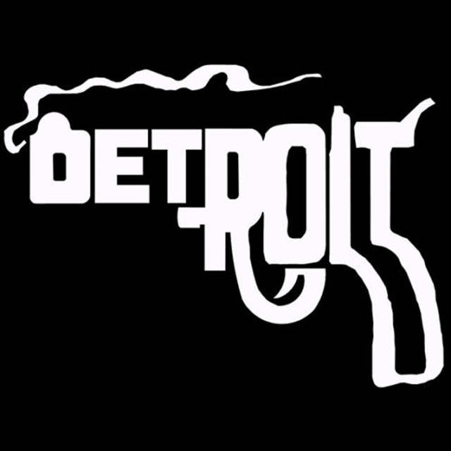 Online Shop 14x102cm Michigan Detroit Gun Vinyl Decals Car Styling