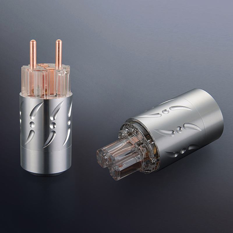 Viborg X 1pair pure copper Aluminium Alloy 20MM Hifi audio power cable connector EU schuko version power plug tpxhm m24 premium color toner powder for xerox copycentre c40 c32 cxp3535e cxp 3535 docucolor dc 1632 2240 1kg bag free fedex
