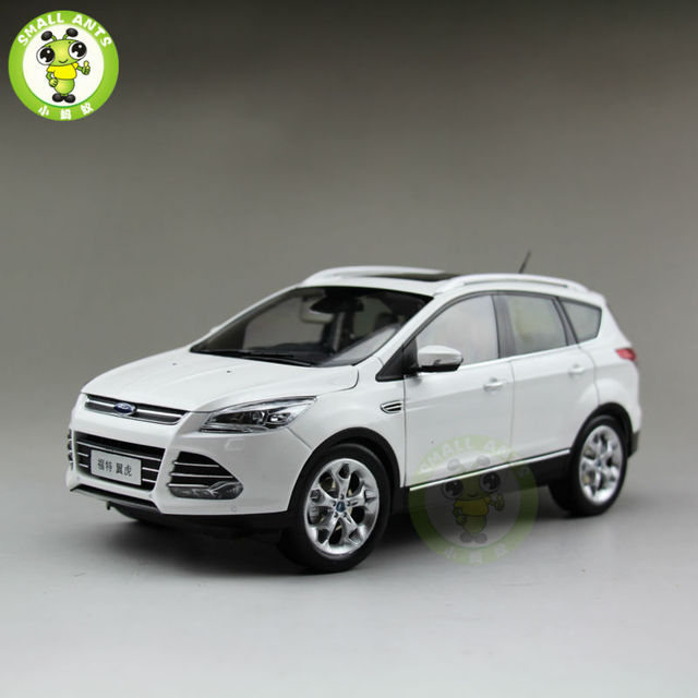 Ford Kugacast Suv Car Model Toys For Gifts Collection Hobby White
