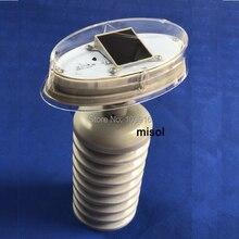 Пластиковый внешний щит для термо-гигро-датчика, запасные части для метеостанции(передатчик/термо-гигро-датчик), с солнечной панелью