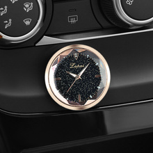 JOGMACHINE New fashion Mounted decorative clock Auto Watch Car Interior Mini Car accessories Reloj de cuarzo para coche reloj de