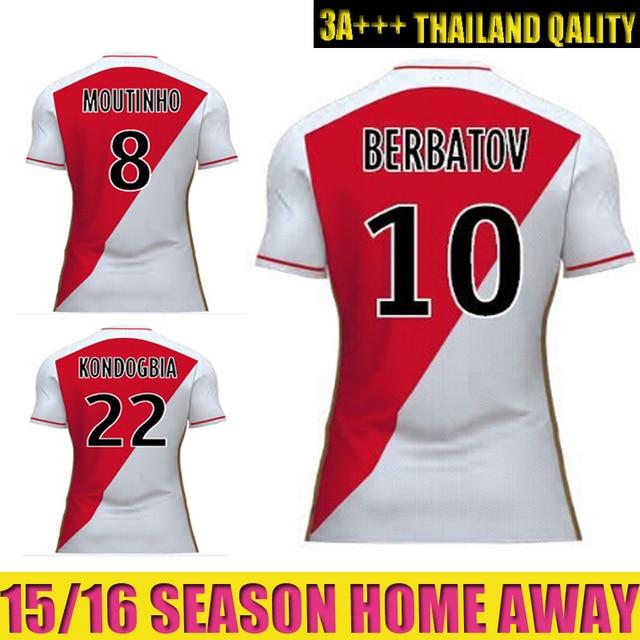 camisetas de futbol AS Monaco nuevo