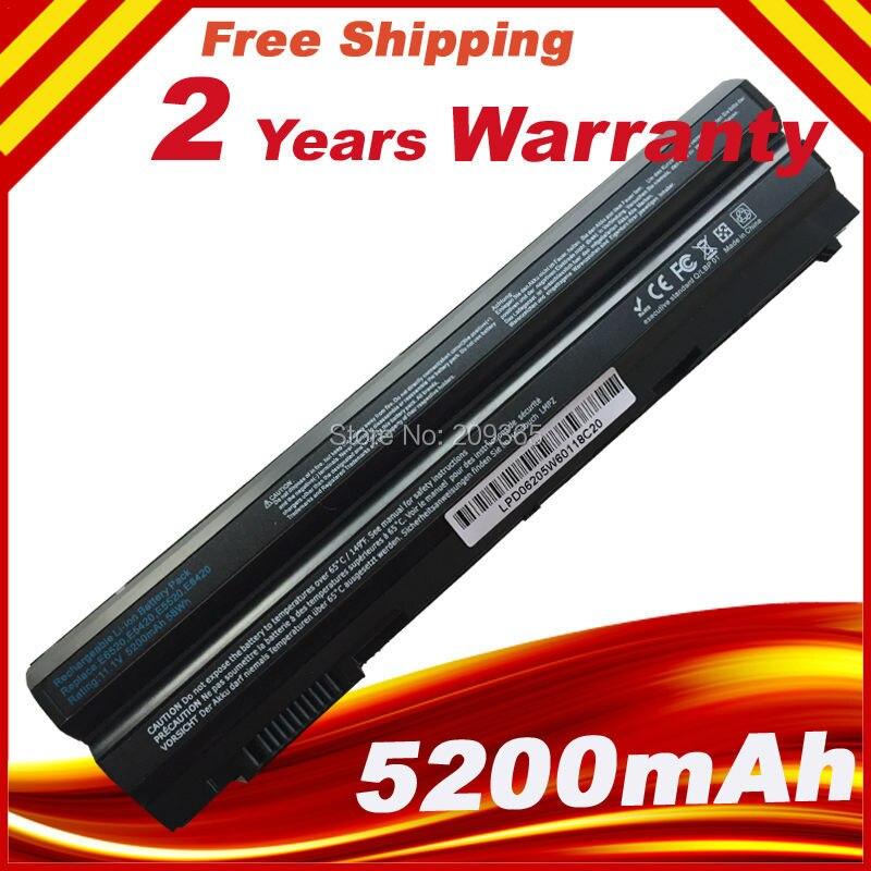 5200 мАч Аккумулятор для Ноутбука HP <font><b>Dell</b></font> Latitude <font><b>E5430</b></font> E5520m E5530 E6120 E6430 E6520 E6420 E6530 Vostro 3460 3560