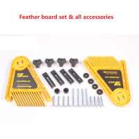 Multi purpose Feather Loc Board Set for Table Saws Woodworking Engraving Machine Double Featherboards Miter Gauge Slot Woodwork