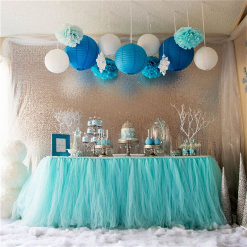 Mint Color Outdoor Ceremony Decorations: Wedding Decoration Tulle Rainbow Color Roll Ceremony