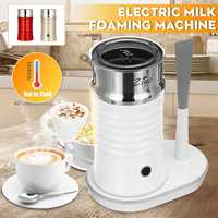 400W Electric Milk Frother For Coffee Automatic Cappuccino Soft Foamer Electric Coffee Frother Whisk Mixer Stirrer Mould Needle