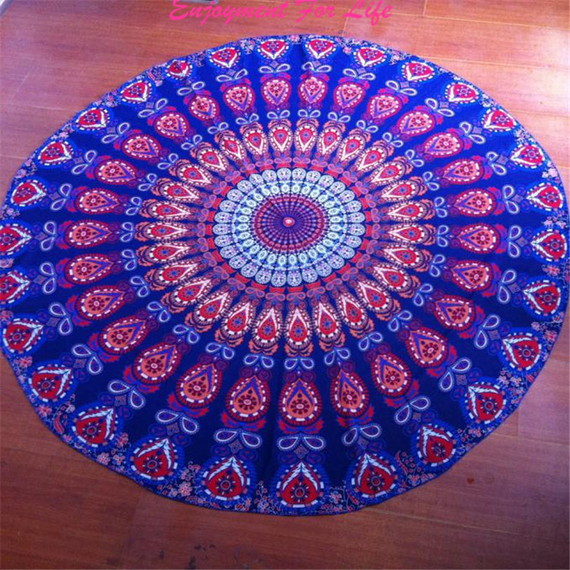 Round Beach Pool Home Shower Towel Blanket New Arrival High Quality Hot Sale Table Cloth Yoga Mat Free Shipping Nov 24