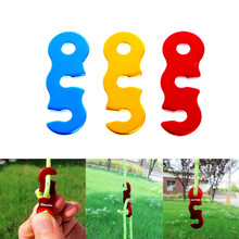 Tent Wind Rope Buckle Outdoor Camping Wind Rope Stopper Awning Adjust Buckles