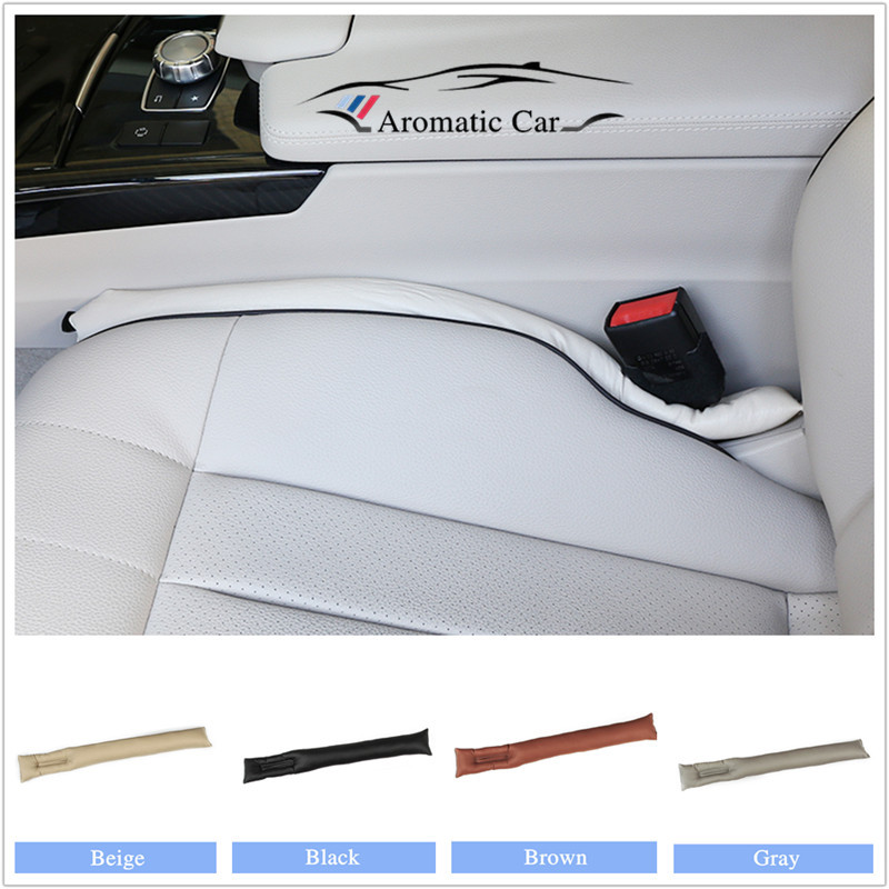 Decoration Cover Car Seat Gap Pad Leak Proof Plate Plug Seat Leak Cover For Universal Vchicles Auto Cleaner Stopper 1pc