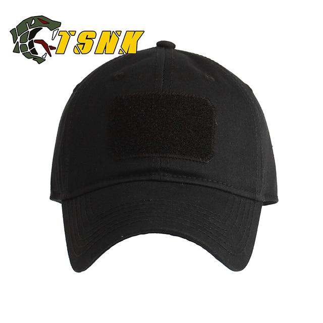 bc507b365d5 TSNK Man Woman Tactical Cap Cotton Basic Running Hat Fashion Baseball Cap  Sunhat Fishing Cap Fashion