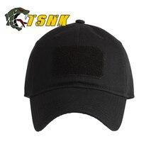 611154b44 TSNK رجل امرأة التكتيكية كاب القطن الأساسية تشغيل قبعة أزياء قبعة بيسبول  قبعة الشمس قبعة الصيد