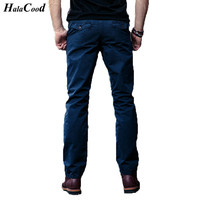 HALACOOD 2017 Fashion Sexy Best Quality Brand Big Size 40 Cotton Pants Casual Men Clothing Military