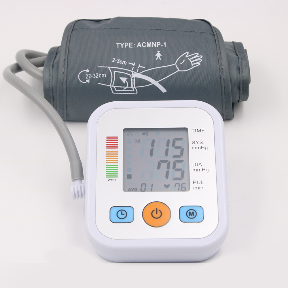 Medical Equipment Upper Arm Blood Pressure Monitor Tonometer for Measuring LCD Screen Blood Pressure Heart Beat Monitor MachineMedical Equipment Upper Arm Blood Pressure Monitor Tonometer for Measuring LCD Screen Blood Pressure Heart Beat Monitor Machine